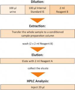 Sample Preparation Hippuric Acid and Methylhippuric Acids Urine